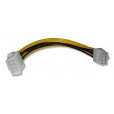 Удлинитель кабеля блока питания для процессора 8-pin CPU 18 см