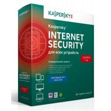 Антивирус Kaspersky Internet Security для всех устройств базовая, русский, 5 ПК, 1 год Box